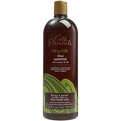 Silk Elements Megasilk Olive Shampoo, 33.8Oz