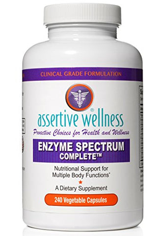 Digestive Enzymes Alone Are Not Enough  Enzyme Spectrum Complete Simultaneously Promotes Healthy Digestion, Enhances Nutrient Absorption, Reduces Inflammation &Amp; Neutralizes Phytic Acid In Your Diet