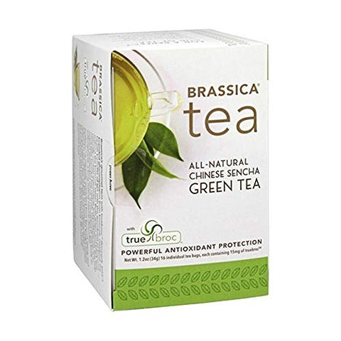Brassica Tea Green Tea With Truebroc, 16 Tea Bags