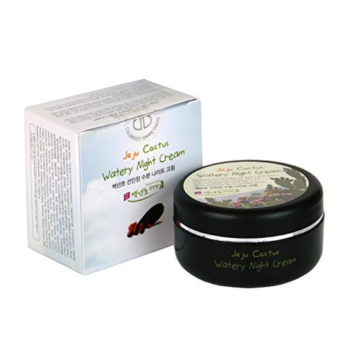 Jeju Prickly Pear Natural Night Face Cream Moisturizer, 2.03 Ounc