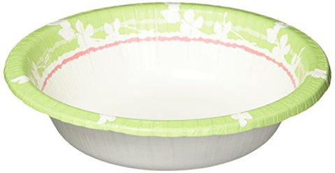 Dixie Paper Bowl, 12Oz, 175 Count (Design And Color Will Vary)