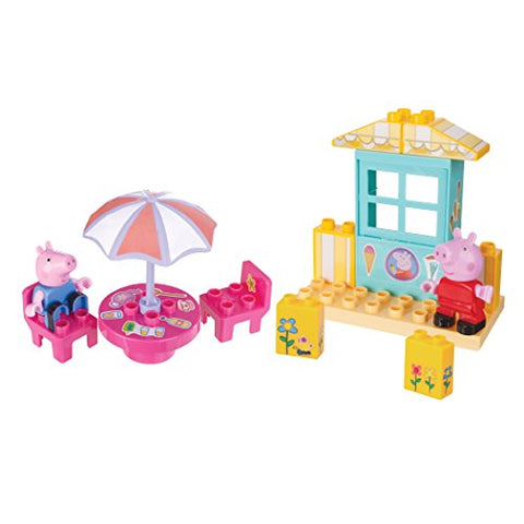 Peppa Pig Ice Cream Shop Construction Set