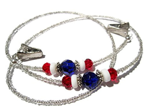 Atlanyards Red White And Blue Eyeglass Holder - Patriotic Glasses Chain