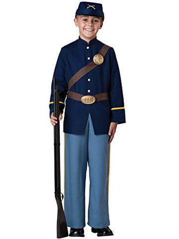Incharacter Costumes Civil War Soldier Costume, Size 8/Medium