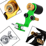 Atomus Green Tattoo Machine Shader &Amp; Liner Assorted Tattoo Motor Gun Kits Supply For Artists