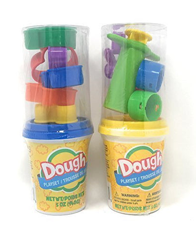 Wright Away Kids Play Dough Playset With Molds Colors Vary (Set Of 2)