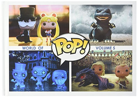 Funko Pop! Vinyl World Of Pop! Volume 5 Hardcover Book