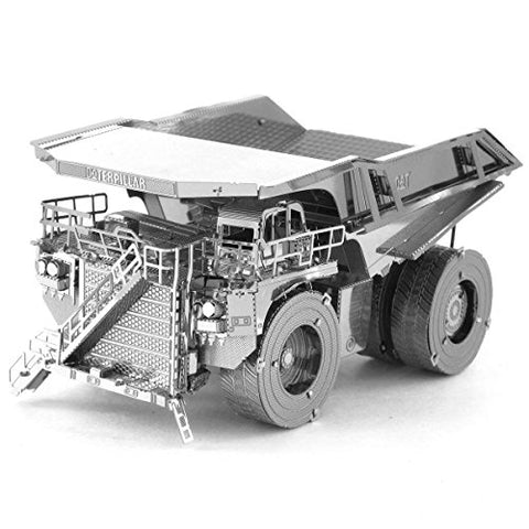 Fascinations Metal Earth Cat Mining Truck 3D Metal Model Kit