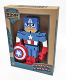Ppwtoys Captain America Wood Warriors 8  Action Figure