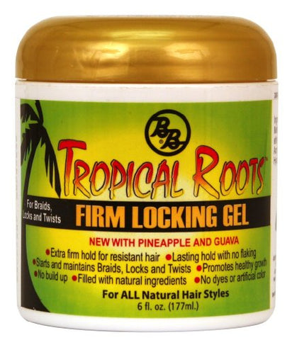 Bronner Brothers Tropical Roots Firm Locking Gel, 6 Ounce