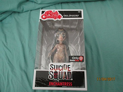 Game Stop Exclusive Suicide Squad Enchantress Rock Candy Vinyl Collectible
