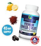 Athlete'S Best Premium Omega-3 Fuel Supplement | 2400Mg Krill Oil-Astaxanthin-Calamarine-Vitamin D3 | Epa+Dha Omega 3S | Highest Quality &Amp; Clinically Proven Ingredients