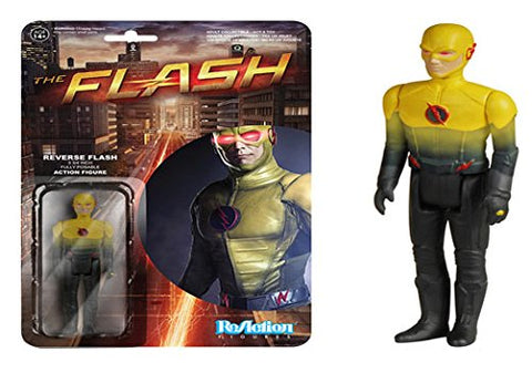 Funko Reaction Flash Tv Series Reverse Flash 3 3/4 Inch Action Figure