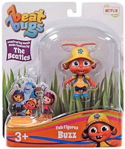 Beat Bugs Fab Figures Buzz Action Figure
