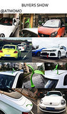 3D Car Stickers Funny Car Stickers Super Elasticity Creative Decal Sapling
