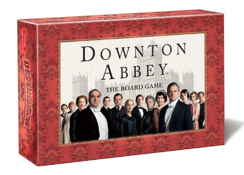 Everest Toys Downton Abbey Board Game, Red
