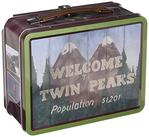 Bif Bang Pow! Twin Peaks Welcome To Twin Peaks Tin Tote