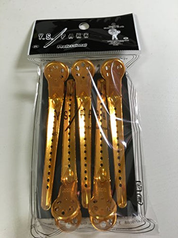 Ys Park Hair Sectioning L-Clips For Hair Salons &Amp; Stylists (Gold)
