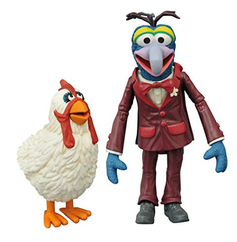 Diamond Select Toys The Muppets Gonzo &Amp; Camilla Action Figure