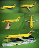 Dc-9 Jetliner Hughes Airwest And Twa Markings 1/72 Aurora Atlantis
