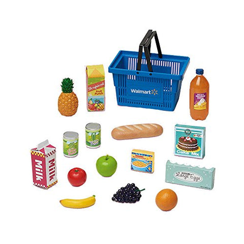 My Life As Shop Basket - Blue
