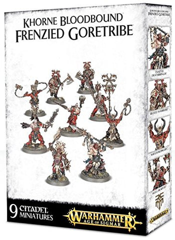 Khorne Bloodbound: Frenzied Goretribe