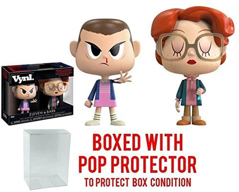 Funko Vynl: Stranger Things - Eleven And Barb Vinyl Figure (Bundled With Pop Box Protector Case)