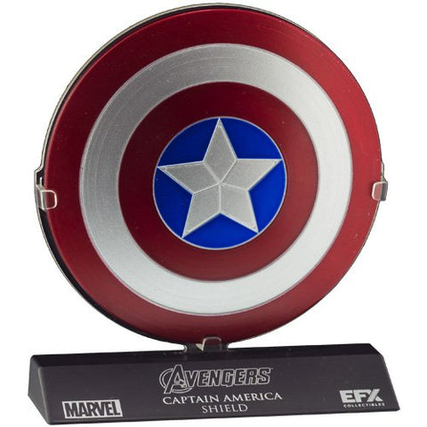Efx Marvel The Avengers Captain America Shield Die-Cast Scaled Replica