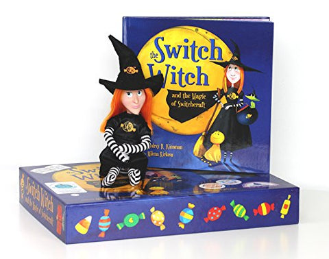 The Switch Witch And The Magic Of Switchcraft - A Halloween Storybook With Plush Witch Doll