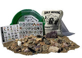 Mother Lode Of Rocks, Fossils, Gems, And Minerals Mining Rough Activity Dig Kit