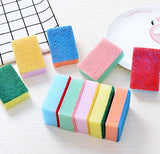 Vndeful 10Pcs Eco Friendly Viscose Sponges Heavy Duty Household Cleaner Sponge For Home Kitchen And Bathroom