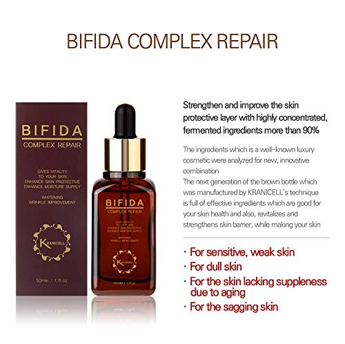 Kranicell Bifida Complex Night Repair Highly Concentrated Moisturizing  Skincare Serum For Face | Korean Skin Care In Essence Korean Beauty  Products |