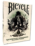 Karnival Assassins Ltd Ed Green Deck Bicycle Playing Cards Big Blind Media Sam Hayles