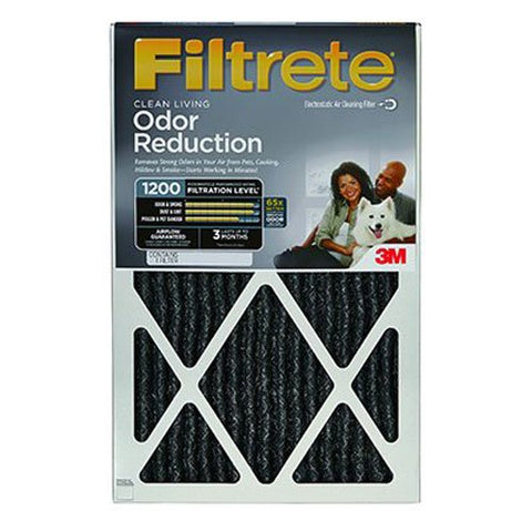 3M Company Home01-4 16X25X1Odor Reducing Filter