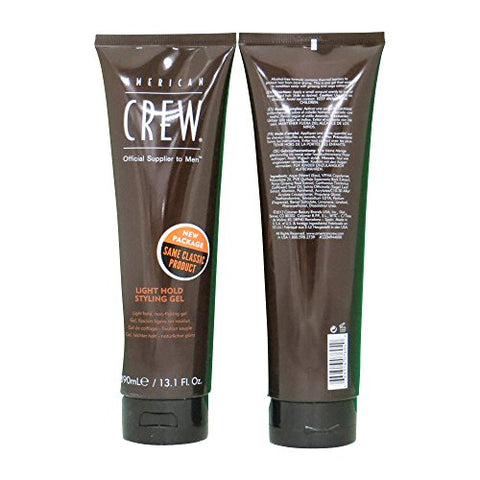 American Crew Light Hold Gel, 13.1 Ounce