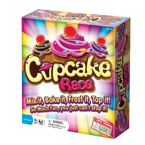 The Cupcake Game - Preschool Game For Children Ages 4 Years And Up