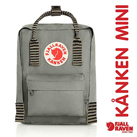 Fjallraven - Kanken Mini Classic Backpack For Everyday, Fog-Striped