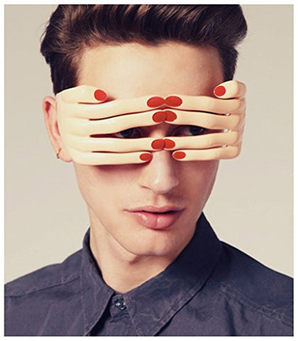Novelty Fingers Shaped Glasses Fancy Ball Eye Mask