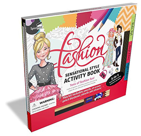 Spicebox Fashion Activity Kit