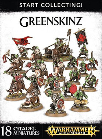 Games Workshop Start Collecting! Greenskinz Warhammer Age Of Sigmar