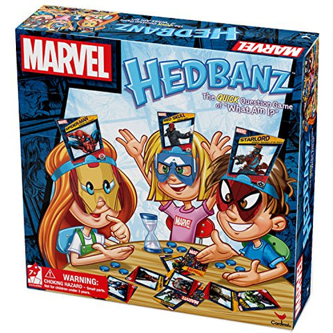 Marvel Hedbanz Board Game