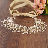 Azaleas Wedding Haipiece Hairband Hair Pin Accessory Bridal Hair Vine Ribbon Headband (Hp55-G)