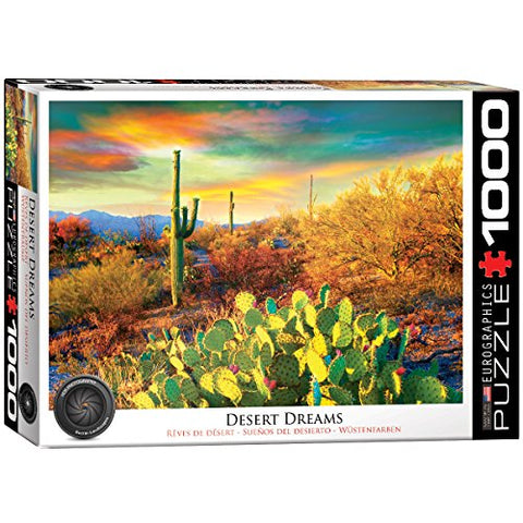 Eurographics Desert Colors Jigsaw Puzzle (1000-Piece)