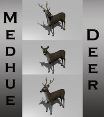 Medhue Animated Deer for Unity