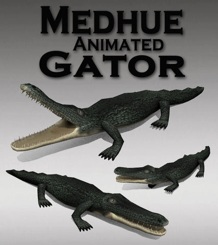 Medhue Animated Gator for Unity