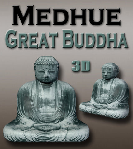 Medhue Great Buddha 3D Model