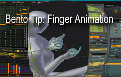 Bento Tips - Hands/Finger Animation - Tutorial