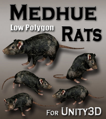 Medhue Rats for Unity3D