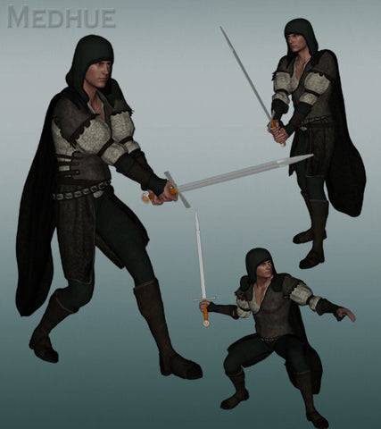 Medhue Genesis Sword Animations