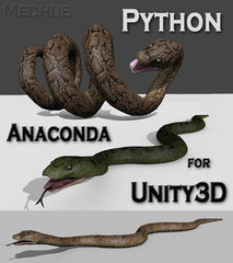 Medhue Python for Unity3D